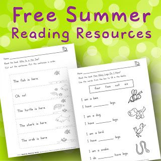 Rockin' Readers: FREE Summer Books for kids going into First Grade ...