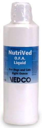 Nutrived OFA Liquid for Dogs and Cats by Vedco 8 oz -- Click on the image for additional details.