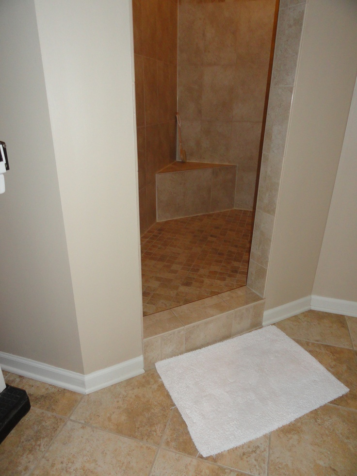 Simple Walk In Shower Concept Home Pinterest Shower