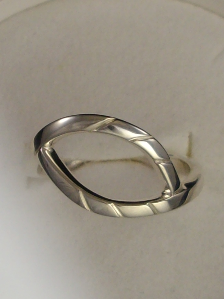 Sterling Silver open marquise ring, One Off www.carellajewellers.com Rockhampton Qld