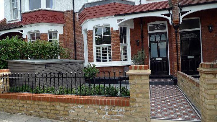 Mosaic Tile Paths London - Garden Design London Chelsea Kensington Belgravia