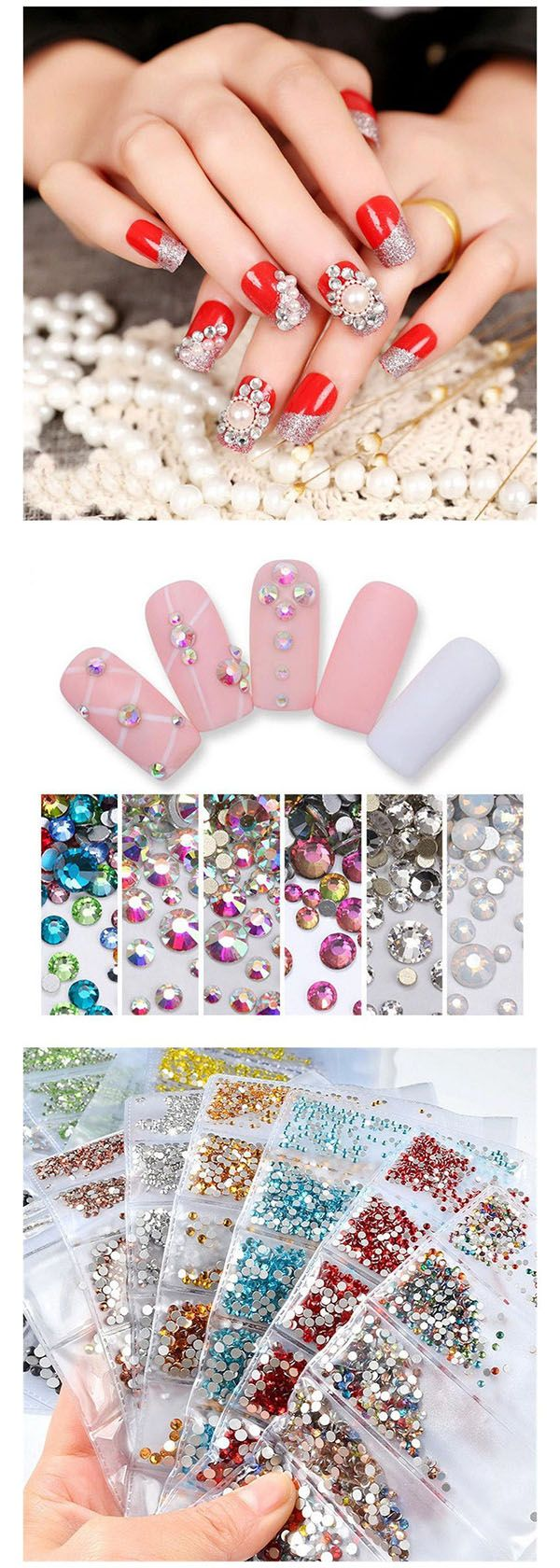 Multisize newly released d decoration come to make your nail