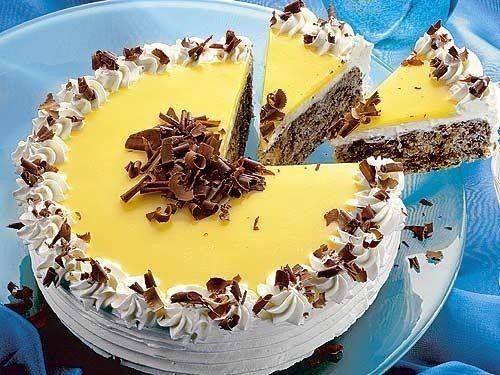 Eierlikör-Schoko-Torte.