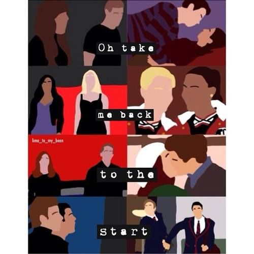 Take me back to the start - Glee