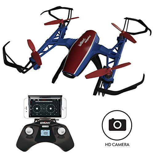 U28W Mini HD Camera Drone - Peregrine 720p Camera Live Video Altitude Hold Outdoor Indoor Drone for Beginners with Wi-Fi FPV Quadcopter