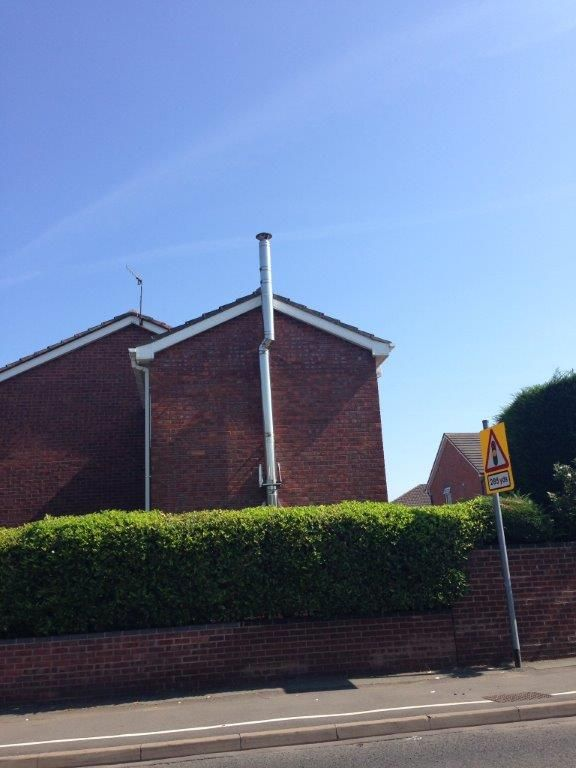 Twin Wall Flue System Ht S External Installation From A