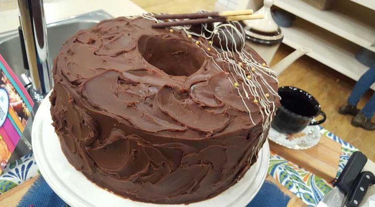 Torta nube de chocolate