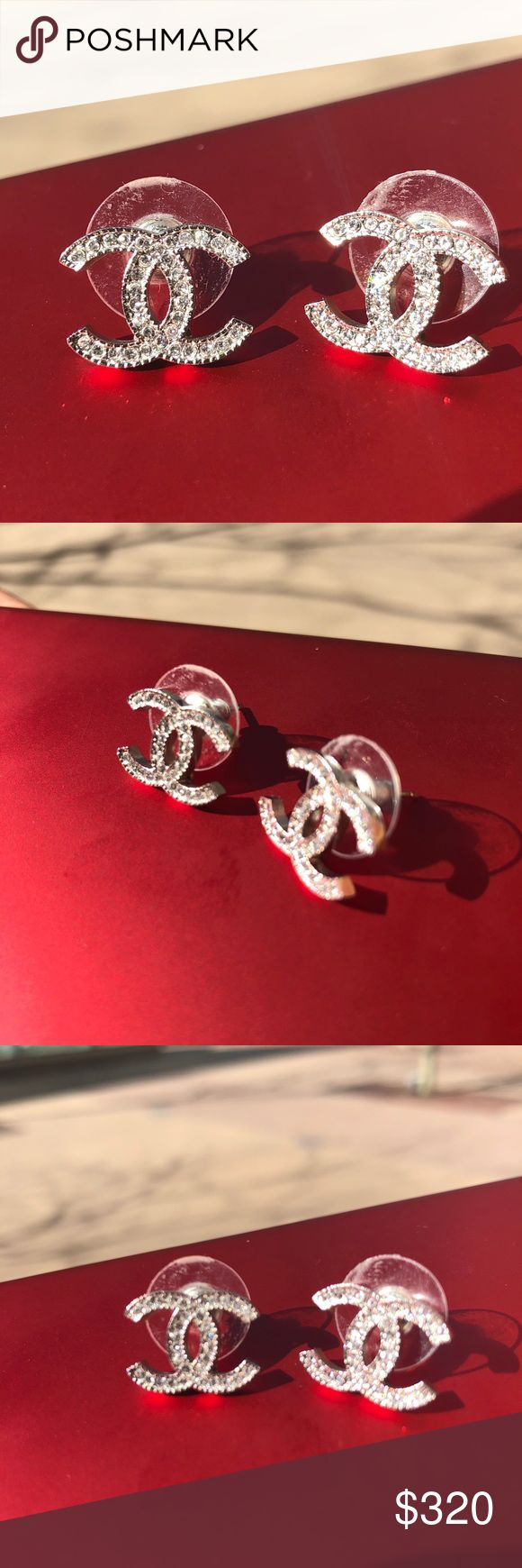 Chanel earrings Don't like it anymore. But I admit it is beautiful. Bought it in 2015 CHANEL Jewelry Earrings