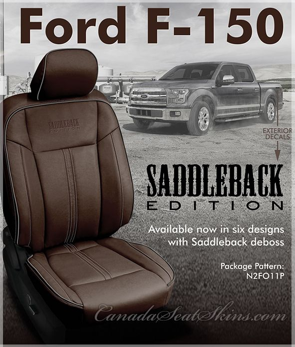2015 2020 Ford F150 Saddleback Edition Leather Interiors With