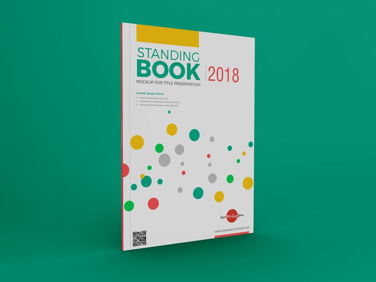 Free Standing Book Mockup For Title Presentation 600 Book Cover Mockup Free Mockup Presentation