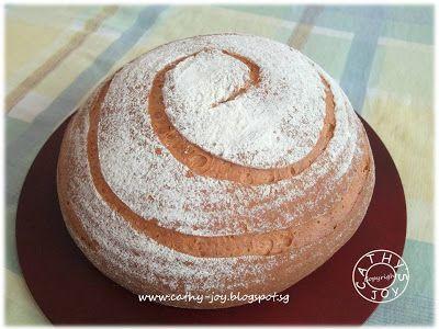 cathy's joy: Almond Meal Butter Bread