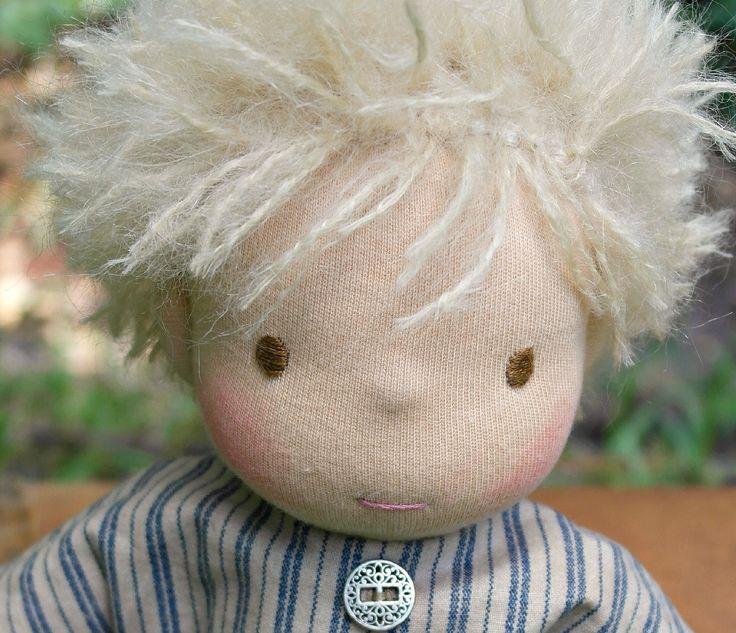 10 in Waldorf Inspired Doll by Jemilynndolls Ready To Ship by jemilynndolls on Etsy
