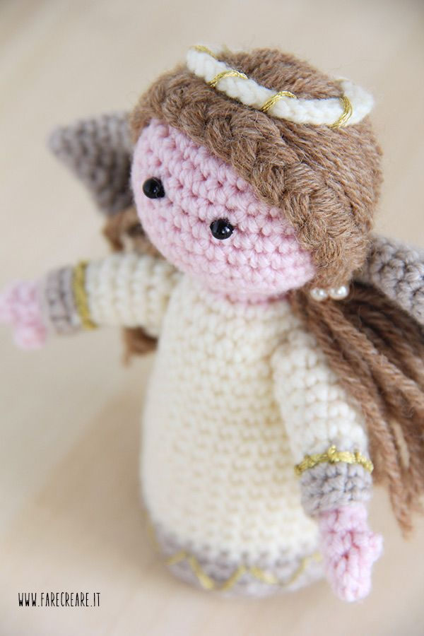 Angeli Amigurumi Tutorial : Angelo #uncinetto con schema amigurumi in italiano ...
