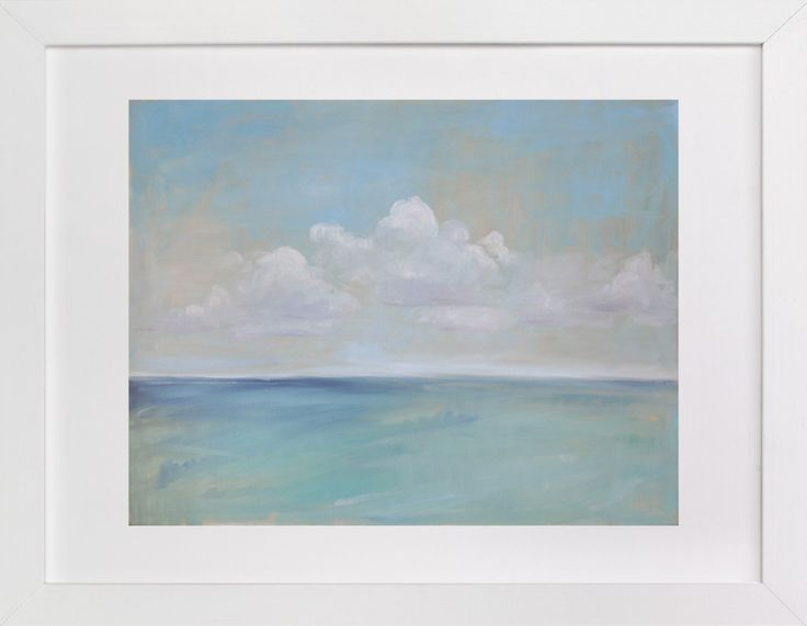 Seascape I by Margaret McCarthy for Minted