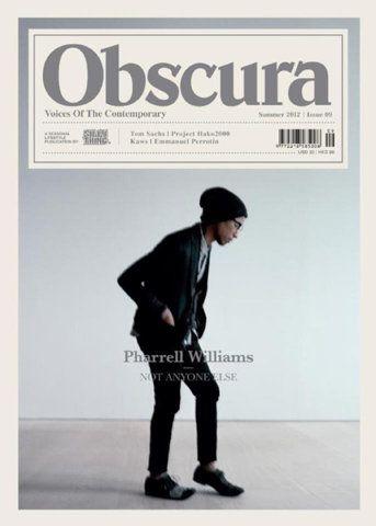 Obscura #magazine: Graphics Porn, Pharrell William, Graphics Design, Covers Design, Obscura Hong, Editorial Design, Design Editorial, Obscura Magazines, Magazines Covers