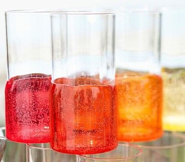 Monterrey Outdoor Drinkware - contemporary - glassware - Pottery Barn