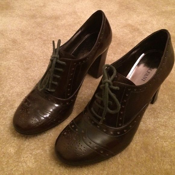 Alfani Brown Shoes Alfani Shoes. Gently used. Good condition. Size7M. Dark Brown color. Leather upper.  No Trade Please. No Trade please. And Thank you for liking and sharing my listing . I appreciate it . Shoes