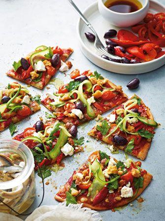 Australian chef Pete Evans Pizza dough and pizza recipe's