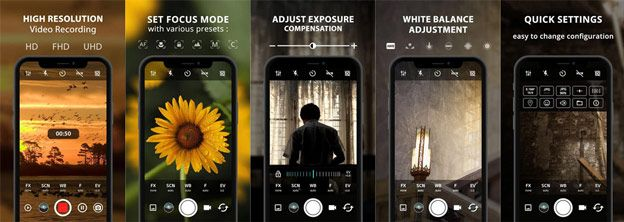 تطبيق Procam X للتصوير الإحترافي متوفر مجانا الآن على متجر Google Play مداد الجليد Exposure Video Google Play