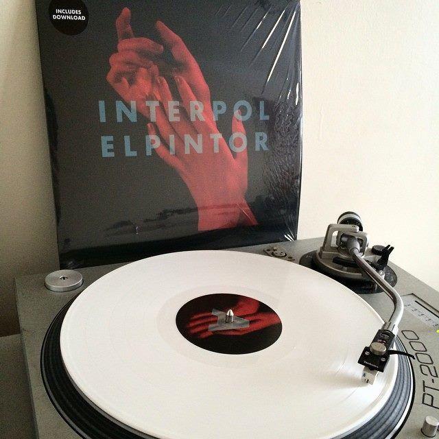 Da white vinyl #ElPintor