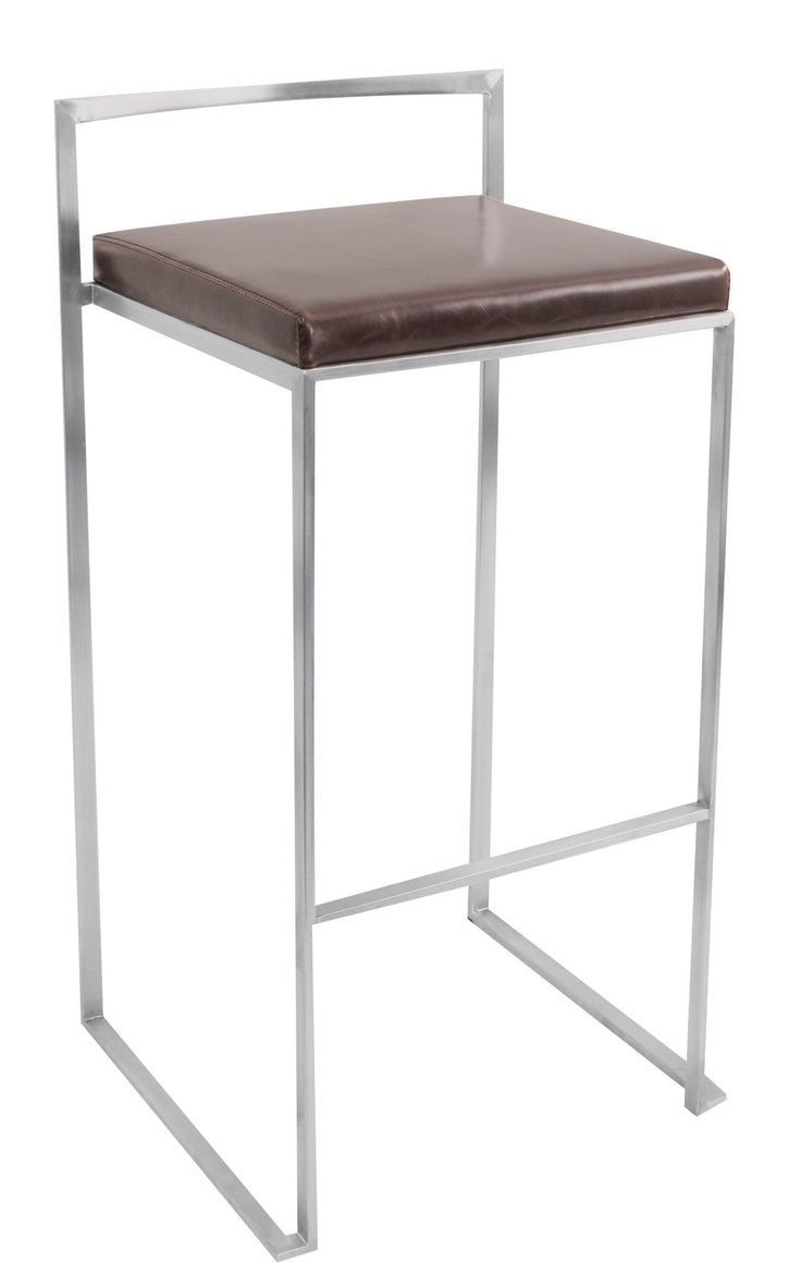 Contemporary bar height table - Gary 30 Bar Stool With Cushion Set