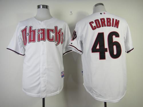 7c4d11cd Arizona Diamondbacks 46 Patrick Corbin White Cool Base Stitched Baseball  Jersey pls email us via MLB Arizona Diamondbacks 35 CAHILL ...