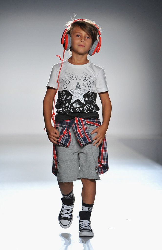 Nike Levi Kids Runway Mercedes Benz Fashion Week Spring