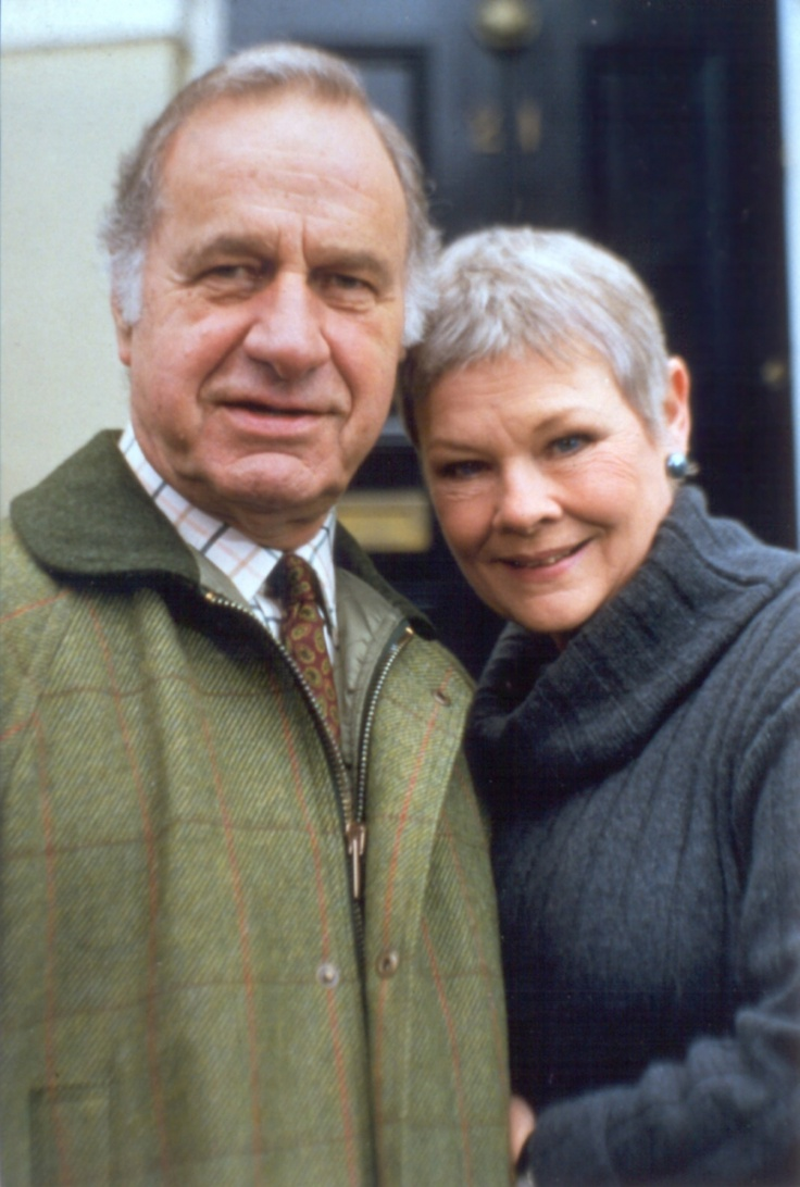 Geoffrey Palmer and Judi Dench ( Judi Since going blind)...I cant imagine her loss of NO eyesight ...