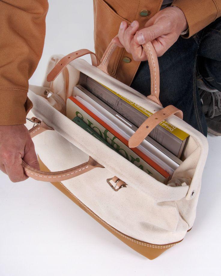 "Hand-Eye 16"" Canvas Tool Bag Classic"