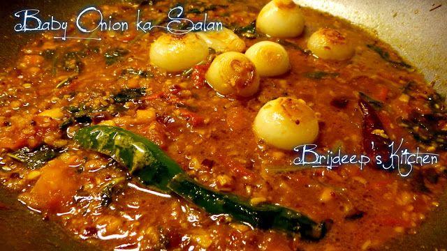 For the Love Of Food..: Baby Onion ka Salan