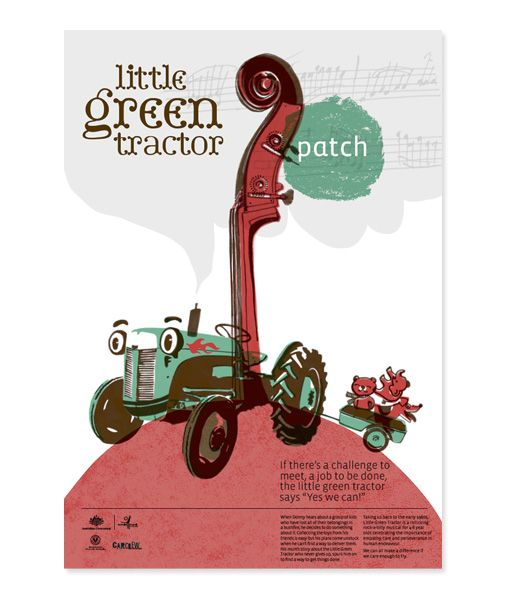 poster for patch theatre - black squid design