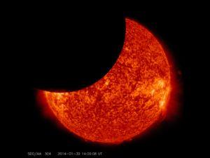 Практика солнечного затмения 15 февраля 2018 года