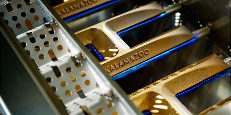Kalamazoo cast brass gas grill burners