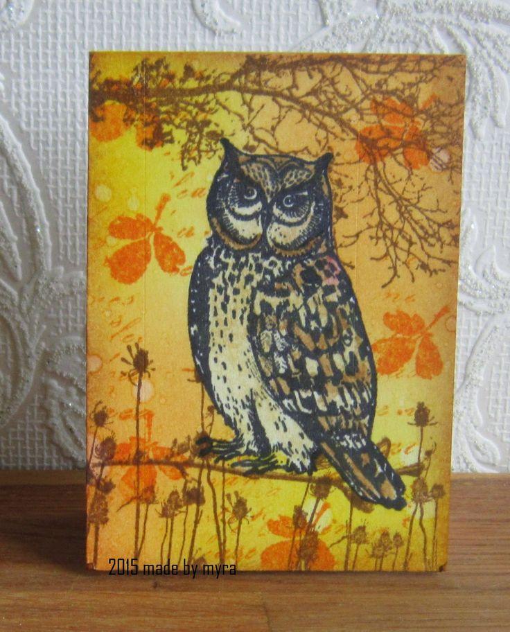 Art Journey Design-team: Notebook Owl