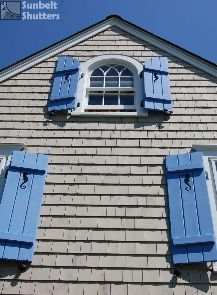 35 best sunbelt shutters board and batten images on for Summer house blinds