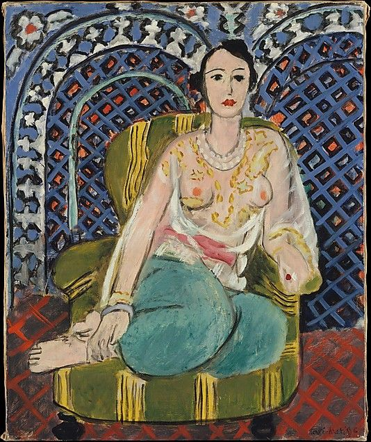 Henri Matisse - 1926, Seated Odalisque