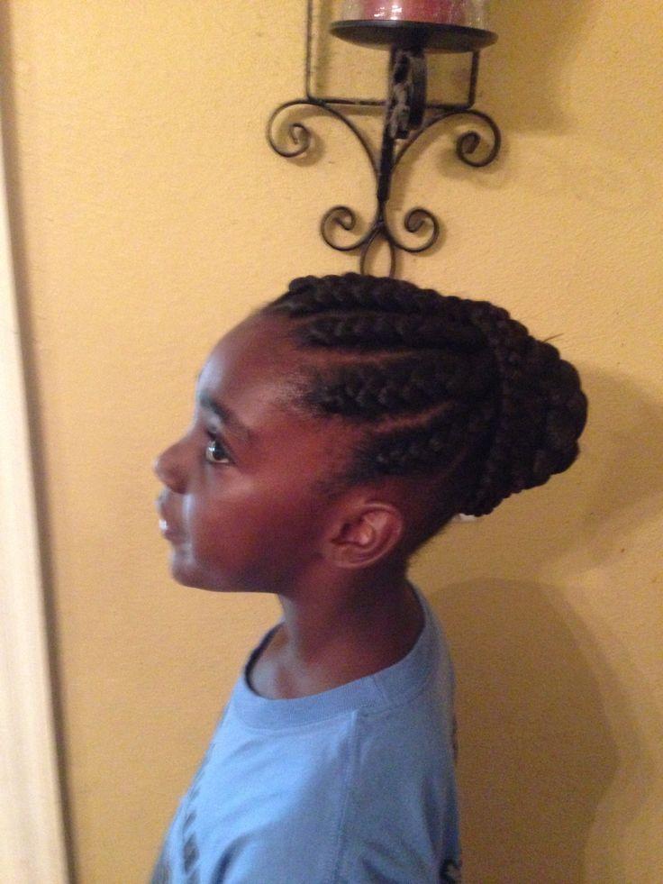 Jumbo Braids Hairstyles Jumbo braids and bun #jumbo