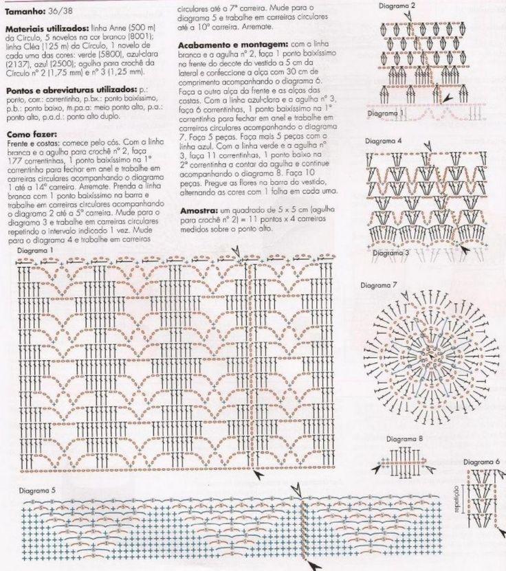White and Gold Summer Dress - Crochet Pattern ⋆ Crochet Kingdom