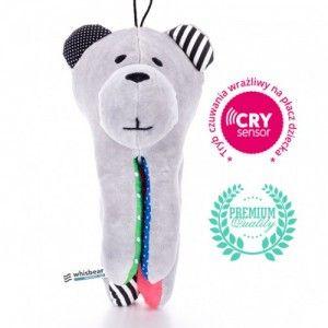 Whisbear - Szumiący Miś z funkcją CRYsensor (arbuz)