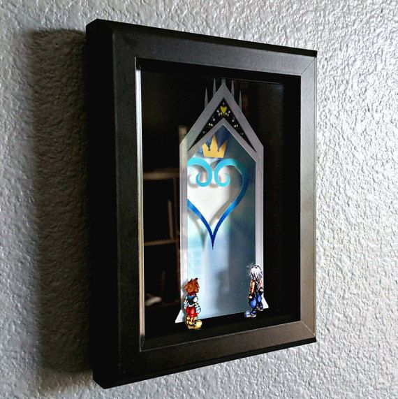 5 x 7 Wooden Frame with Glass - Printed On Semi-Gloss High-Quality Stock Paper - 3D Art Brings Characters And Scenery To Life - Ready To Hang Or