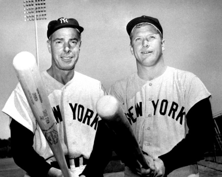 Joe DiMaggio & Mickey Mantle