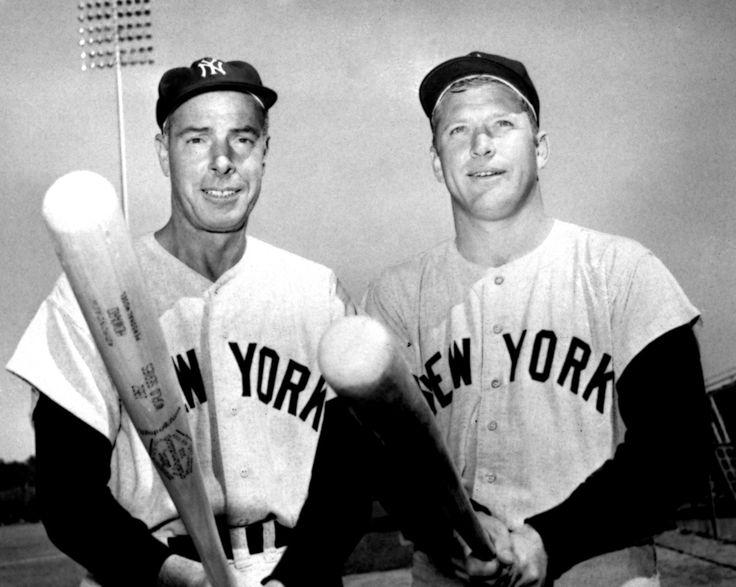 Joe DiMaggio & Mickey Mantle