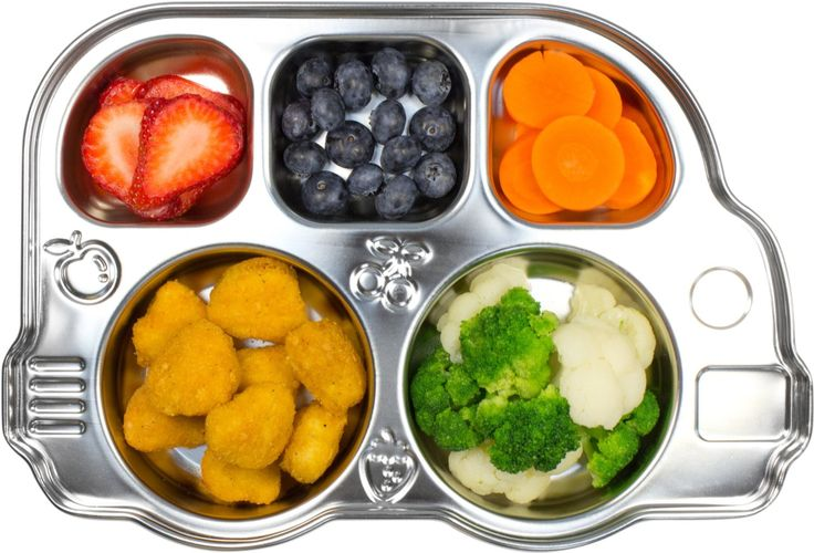 AmazonSmile : Innobaby Stainless Bus Divided Platter : Baby Flatware Sets : Baby