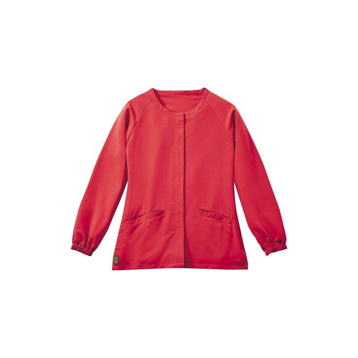Addison Ave Scrub Jacket Pink X-large