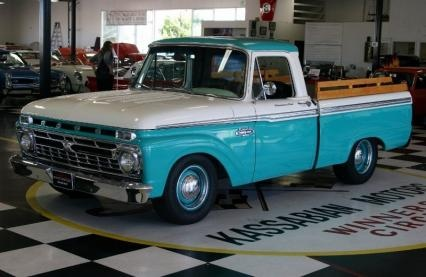 1965 Ford F-100 Short bed Pick Up For Sale