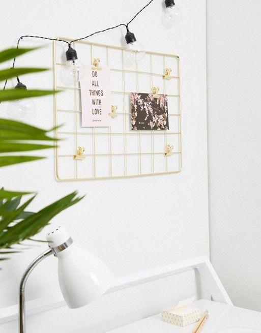 AFFILIATELINK | Schreibtisch, Pinnwand, Skandinavisch, Design, Minimalist, E …   – Arbeitsplatz | den Workspace kreativ und schön einrichten