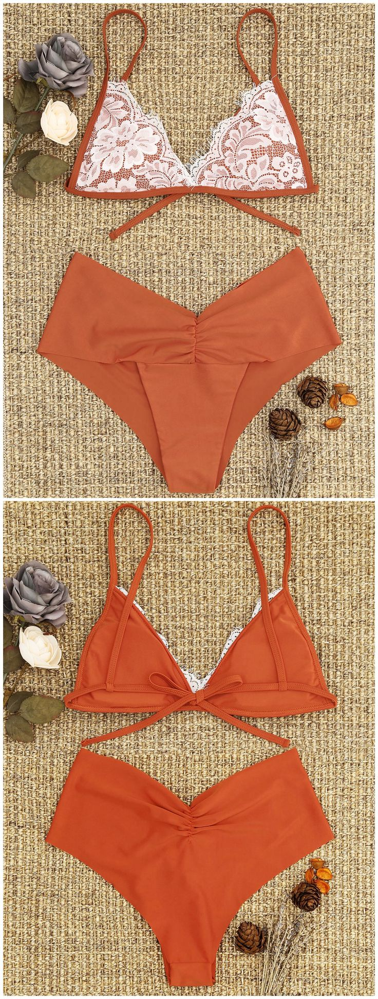 Up to 80% OFF! Lace Overlay Scrunch Bikini Set. #Zaful #Swimwear #Bikinis zaful,zaful outfits,zaful dresses,spring outfits,summer dresses,Valentine's Day,valentines day ideas,cute,casual,fashion,style,bathing suit,swimsuits,one pieces,swimwear,bikini set,bikini,one piece swimwear,beach outfit,swimwear cover ups,high waisted swimsuit,tankini,high cut one piece swimsuit,high waisted swimsuit,swimwear modest,swimsuit modest,cover ups,swimsuit cover up @zaful Extra 10% OFF Code:ZF2017