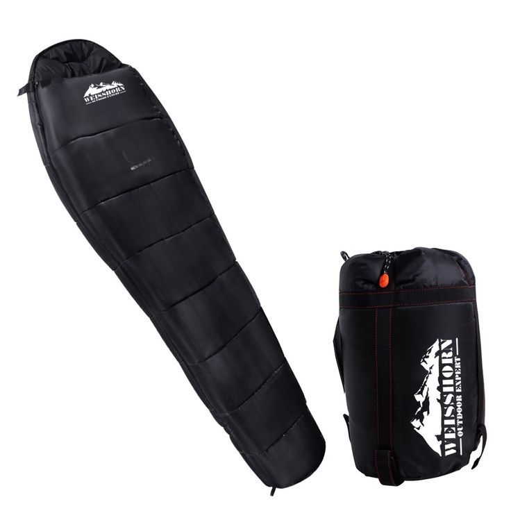 DetailsCamping Thermal Sleeping BagThe Camping Sleeping Bag prevents the weather from ruining your camping trip with its premium material and compact size. Made of 210 THex ripstop polyester fibre and...
