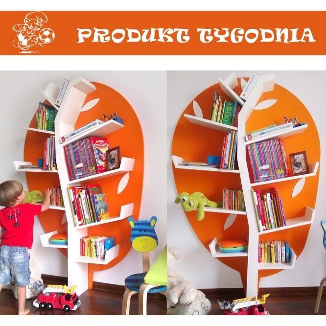 Regał, dzięki któremu pokój Twojego dziecka na wejściu będzie wyglądał o wiele lepiej! sarenka.eu #babyroom #baby #dziecko #pokoj #dekoracje #design #room #book #books