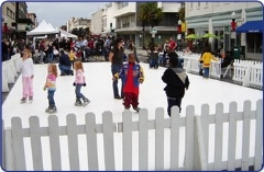 For the first time ever downtown Grass Valley will be hosting an after Holiday Ice Skating Rink! From January 18-21st you can bring the family downtown to Gold Miners Inn-Holiday Inn Express for a winter wonderland experience. Check back for hours and more information We are still looking for sponsors. If you are interested in hosting FREE skate time for the community, please contact us for details (530) 272-8315